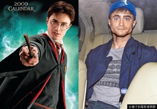哈利波特你还是把眼镜戴上吧.